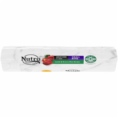 Nutro Wholesome Essentials Small Bites Lamb & Rice Recipe Adult Dry Dog Food Perspective: top