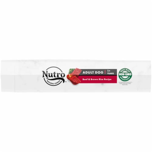 Nutro Wholesome Essentials Beef & Brown Rice Recipe Adult Dry Dog Food Perspective: top
