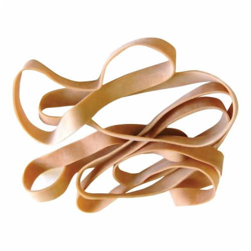 HQ Advance #16 Rubber Bands - Tan Perspective: top