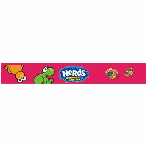 Nerds Rainbow Gummy Clusters Theater Box Perspective: top