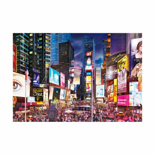 Buffalo Games Times Square Jigsaw Puzzle Perspective: top