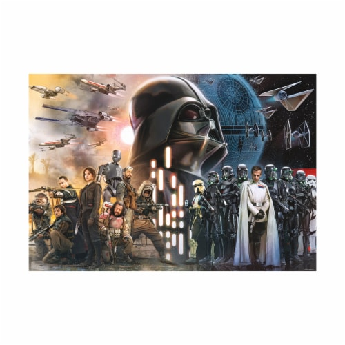 Buffalo Games Star Wars Rogue One - Rebellions Are Built On Hope Puzzle Perspective: top