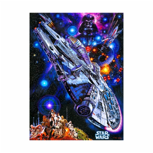 Buffalo Games Star Wars You're All Clear Kid Puzzle Perspective: top