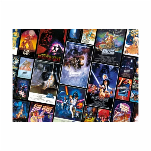 Buffalo Games Star Wars Original Trilogy Posters Collage Puzzle Perspective: top