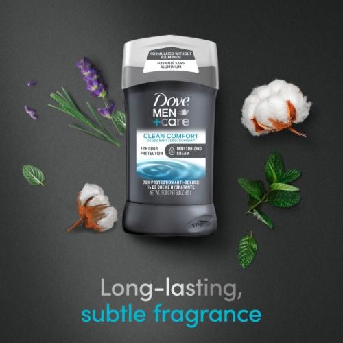 Dove Men+Care Aluminum-Free 48-Hour Protection Clean Comfort Deodorant Stick Perspective: top