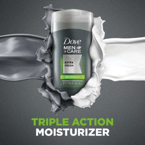 Dove Men+Care Extra Fresh Deodorant Stick Perspective: top