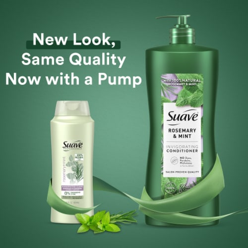 Suave Professionals Rosemary & Mint Conditioner Perspective: top