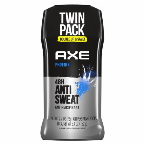Axe Phoenix Antiperspirant Twin Pack Perspective: top