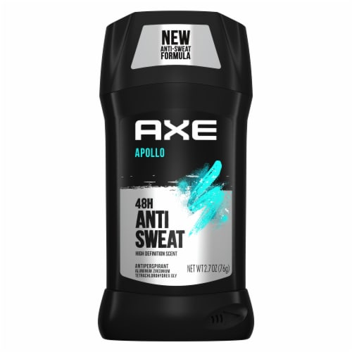 Axe Apollo 48H Anti Sweat Solid Antiperspirant Deodorant Stick Perspective: top