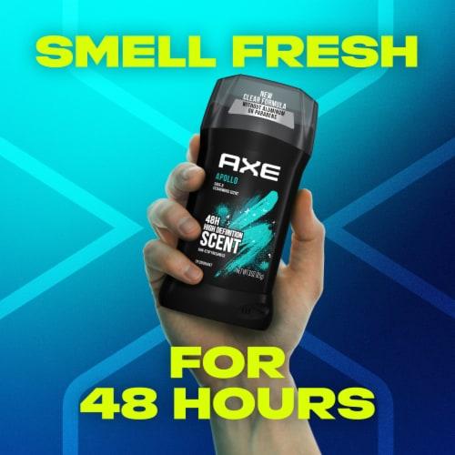 Axe Apollo Deodorant Stick Perspective: top