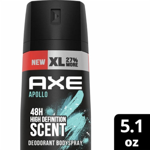 Axe Apollo Body Spray Perspective: top