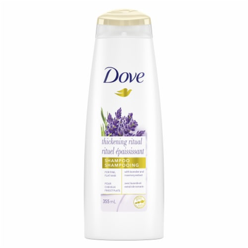 Dove Nourishing Secrets Thickening Shampoo Perspective: top
