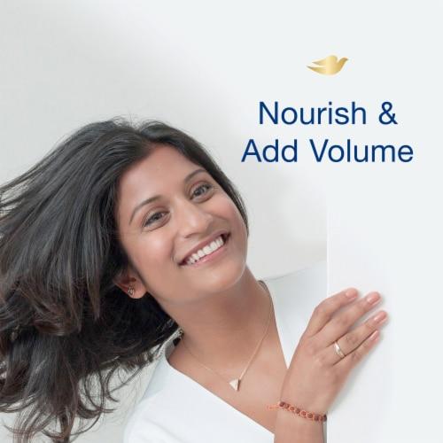Dove Nourishing Secrets Thickening Ritual Conditioner Perspective: top