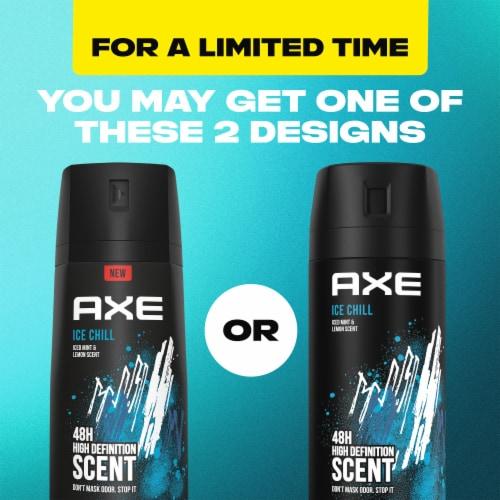 Axe Ice Chill Deodorant Body Spray Perspective: top