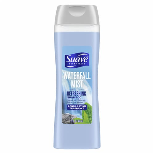 Suave® Essentials Waterfall Mist Refreshing Shampoo Perspective: top