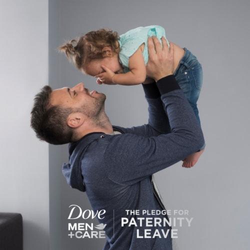 Dove Men+ Care Eucalyptus & Birch 2-in-1 Shampoo and Conditioner Perspective: top
