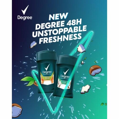 Degree Men Mint & Coconut Antiperspirant Deodorant Perspective: top