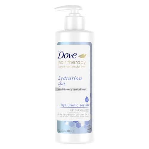 Dove Hair Therapy Hydration Spa Conditioner for Dry Hair Perspective: top