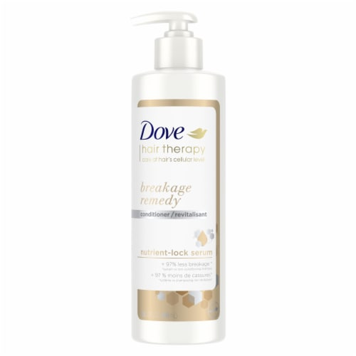 Dove Hair Therapy Breakage Remedy Conditioner for Damaged Hair Perspective: top