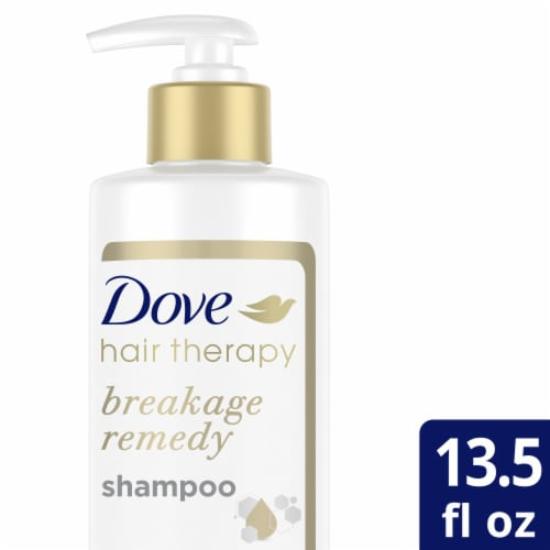 Dove Hair Therapy Breakage Remedy Shampoo for Damaged Hair Perspective: top