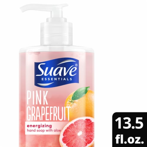 Suave Pink Grapefruit Energizing Hand Soap Perspective: top