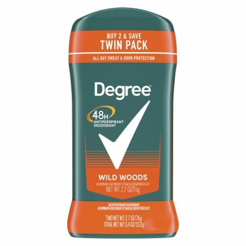 Degree Men Wild Woods Antiperspirant and Deodorant Stick Perspective: top