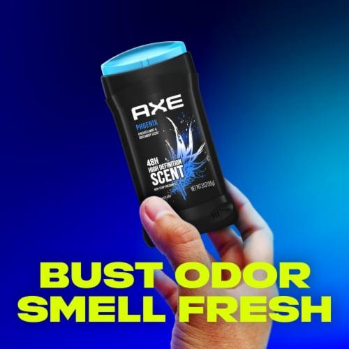 AXE Men Aluminum-Free Phoenix Crushed Mint & Rosemary Dual Action Deodorant Stick Perspective: top