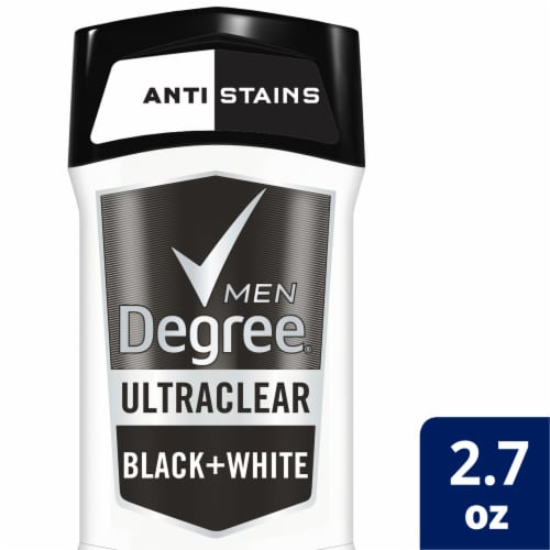 Degree Men MotionSense UltraClear Black + White Antiperspirant Perspective: top