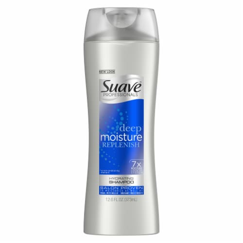 Suave Professionals Deep Moisture Replenish Hydrating Shampoo Perspective: top