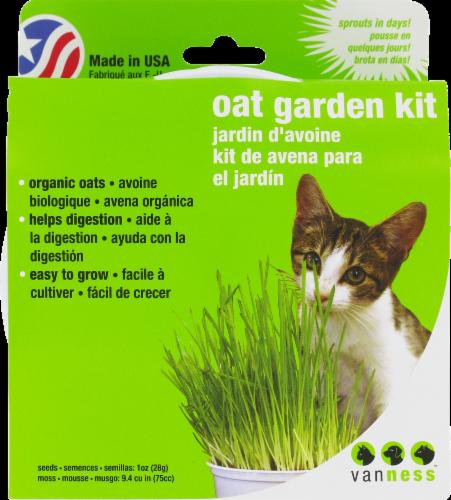 Van Ness Oat Garden Kit Perspective: top