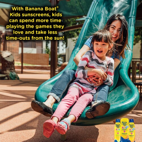 Banana Boat Kids Sport Sunscreen Lotion SPF 50+ Perspective: top