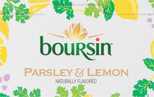 Boursin® Parsley and Lemon Gournay Cheese Perspective: top