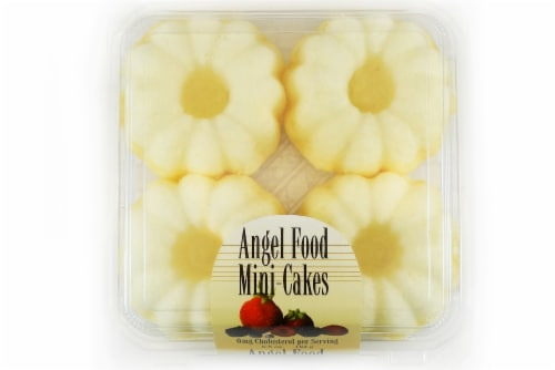 Olson's Baking Company Mini Angel Food Cakes Perspective: top