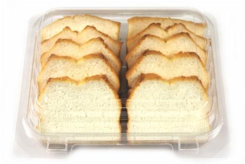Olsen Sliced Angel Food Cake Perspective: top