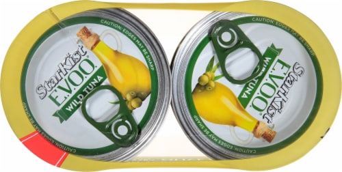 StarKist Selects Solid Yellowfin Tuna in Extra Virgin Olive Oil Perspective: top