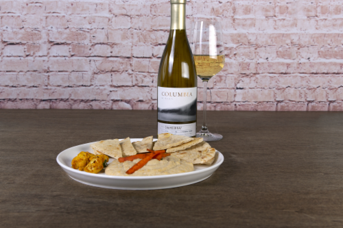 Columbia Winery Chardonnay White Wine Perspective: top