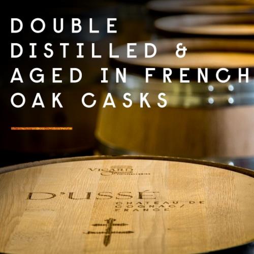 D'usse VSOP Cognac Perspective: top