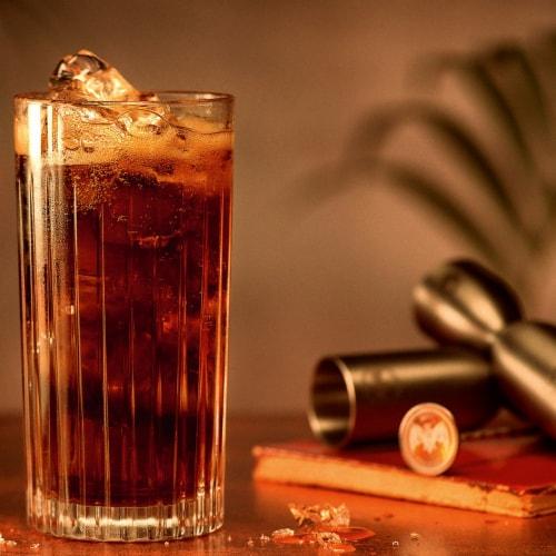 Bacardi Black Rum Perspective: top