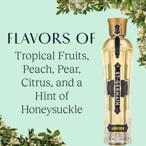 St. Germain Elderflower Liqueur Perspective: top