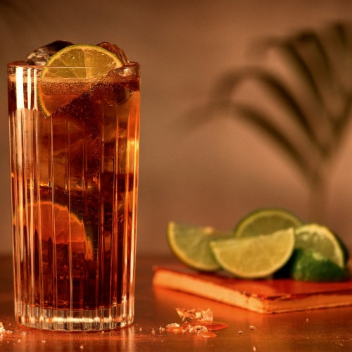 Bacardi Gold Rum Perspective: top