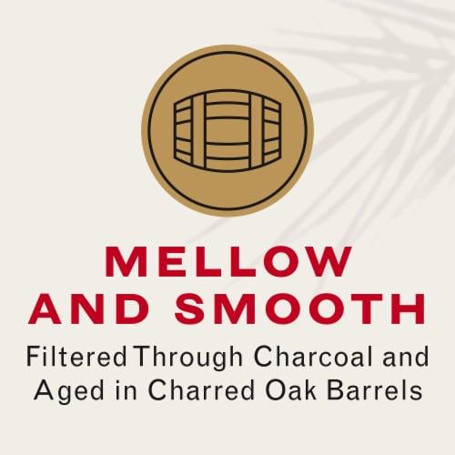 Bacardi Gold Dark Rum Perspective: top