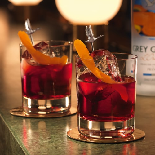 Grey Goose L'Orange Vodka Perspective: top