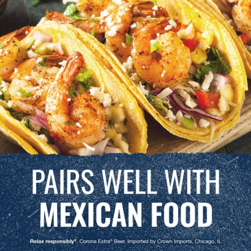 Corona Extra Imported Beer Perspective: top