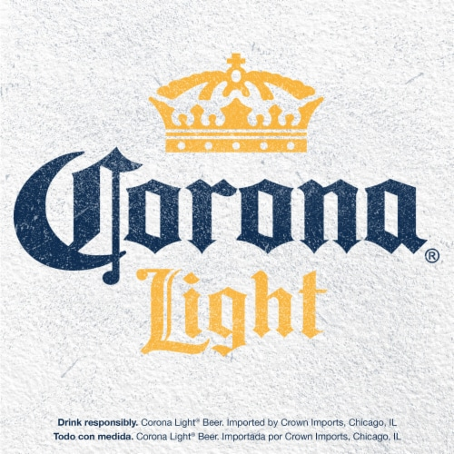 Corona® Light Lager Beer Perspective: top