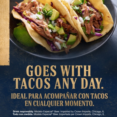 Modelo Especial Mexican Lager Beer Perspective: top