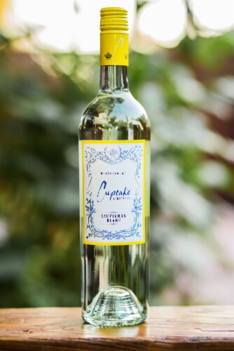 Cupcake Vineyards Sauvignon Blanc White Wine Perspective: top