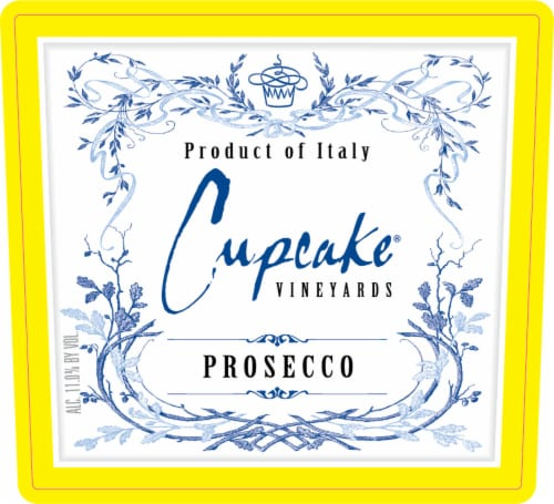 Cupcake Vineyards Prosecco White Wine Perspective: top