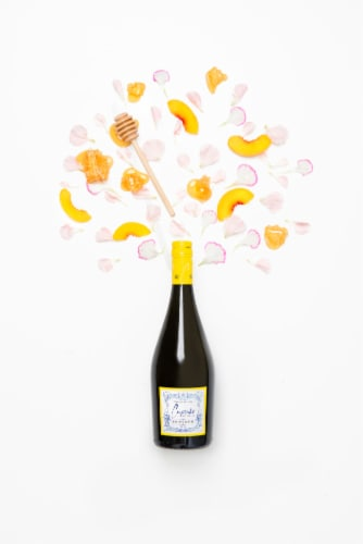Cupcake Vineyards Moscato D' Asti White Wine Perspective: top