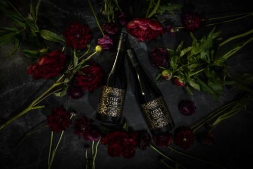 Love Noir Pinot Noir Red Wine Perspective: top