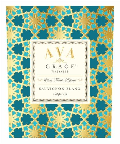 Ava Grace Sauvignon Blanc White Wine Perspective: top